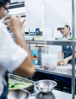 Kitchen — Behind the scenes at Restaurant Bolan