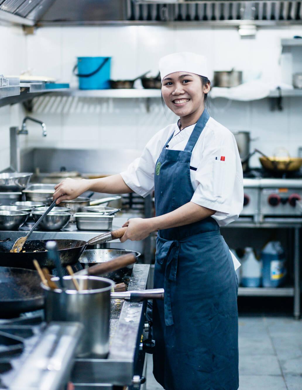 Kitchen — Staff Portrait at Restaurant Bolan