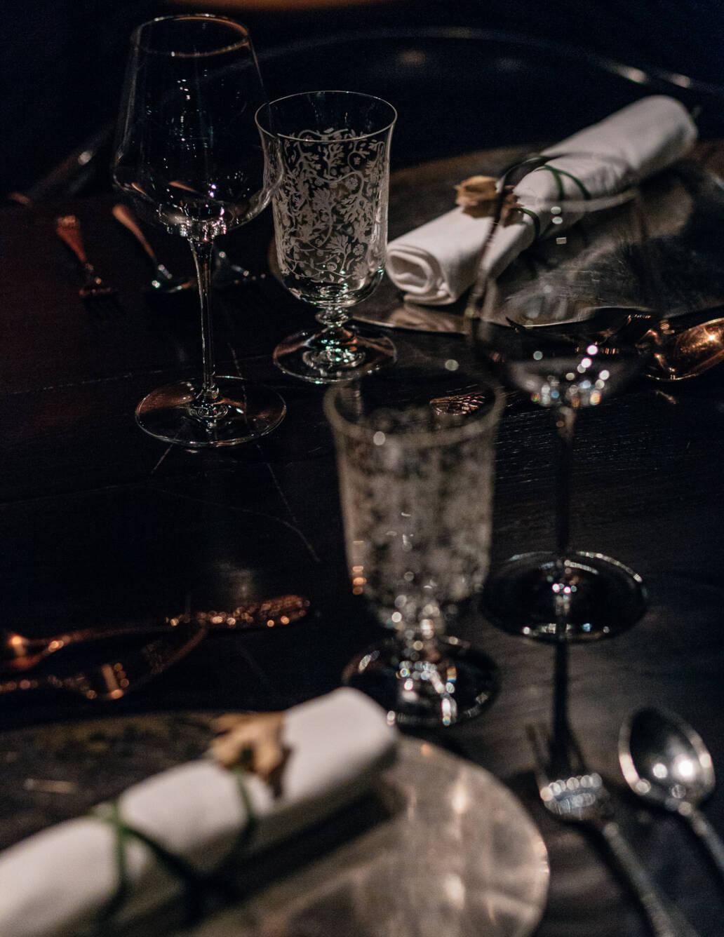 Still Life — Dining area at Restaurant Bolan