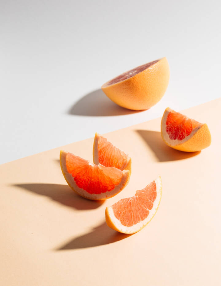 Grapefruit Still Life