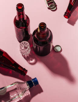 »BEER«, the poisonings committed by Margit Grätz — Editorial Still Life Photography