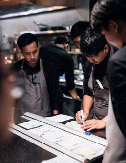 Kitchen — Behind the scenes at Restaurant Sühring