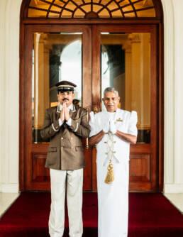 Staff Portrait, Galle Face Hotel in Colombo, Sri Lanka